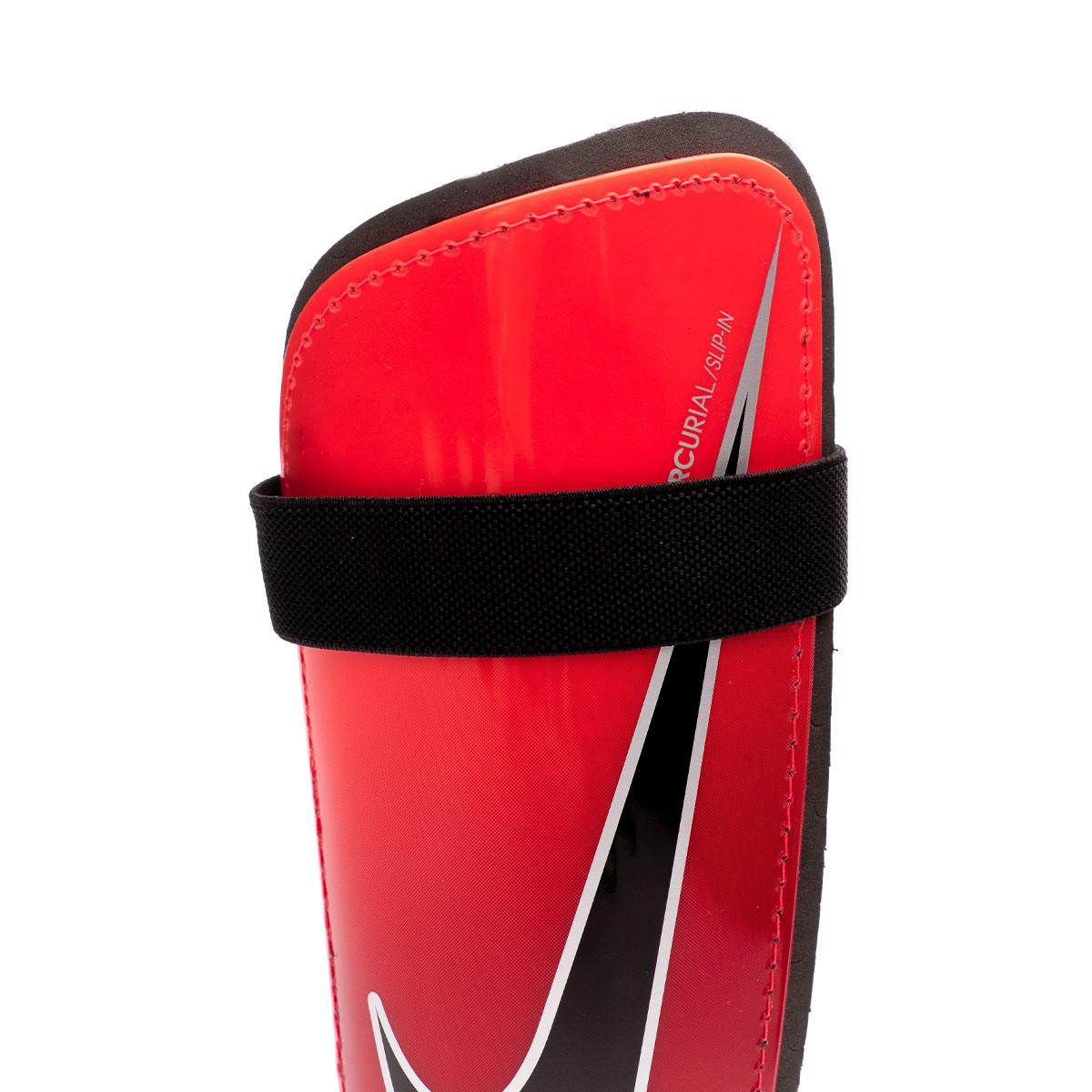 size 40 5cc97 276c6 Shinpads Nike Mercurial Hard Shell In Bright crimson-University red-Black -  Football store Fútbol Emotion