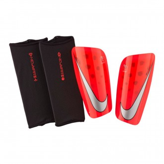 Shinpads  Nike Mercurial Lite Bright crimson-University red-Cool grey