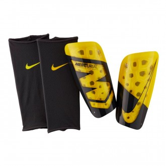 Shinpads  Nike Mercurial Lite Optical yellow-Anthracite