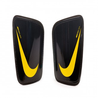 Espinillera  Nike Mercurial Hard Shell In Anthracite-Black-Optical yellow