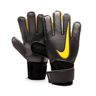 Glove  Nike Match Niño Anthracite-Black-Optical yellow