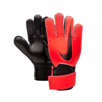 Glove  Nike Match Niño Bright crimson-Black-Metallic silver