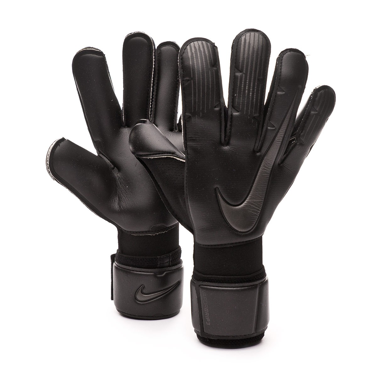 vela Rápido Detectar  Glove Nike Vapor Grip 3 Black - Football store Fútbol Emotion