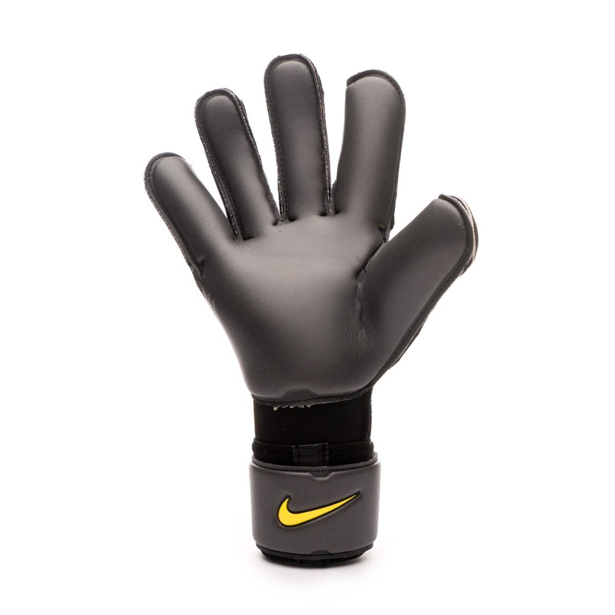 El sendero dolor siglo  Glove Nike Vapor Grip 3 Anthracite-Black-Optical yellow - Football store  Fútbol Emotion