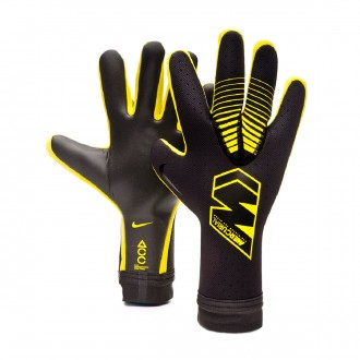 Glove  Nike Mercurial Touch Elite Anthracite-Black-Optical yellow