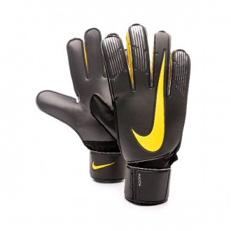 Glove  Nike Match Anthracite-Black-Optical yellow