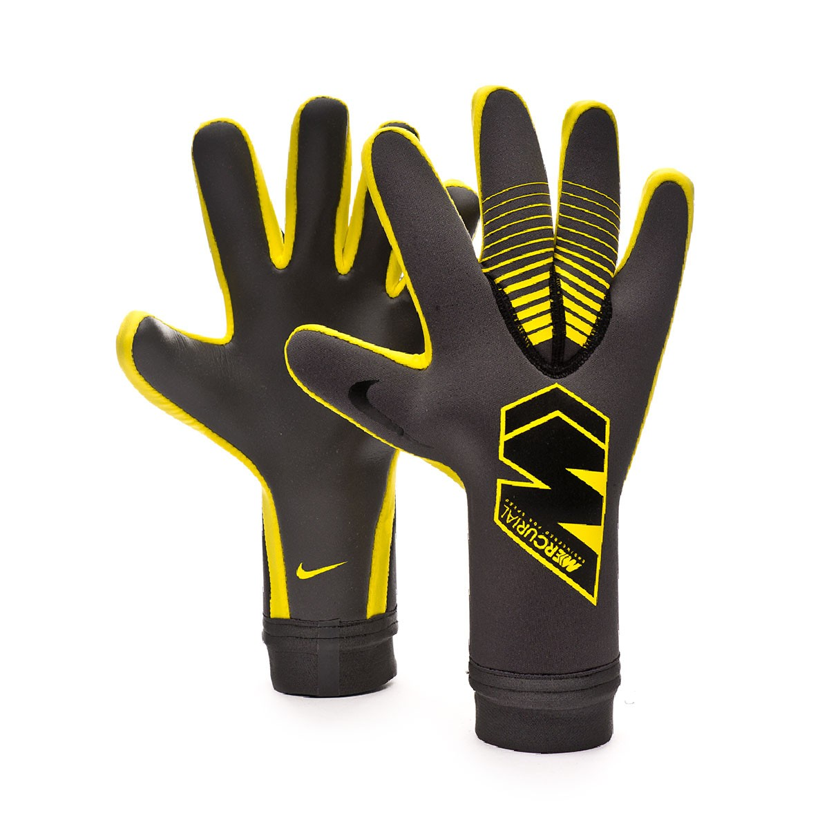 new concept b9527 0ef0b Guante Mercurial Touch Victory Anthracite-Black-Optical yellow