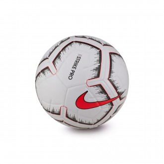 Ball  Nike Strike Pro Fifa 2018-2019 White-Bright crimson