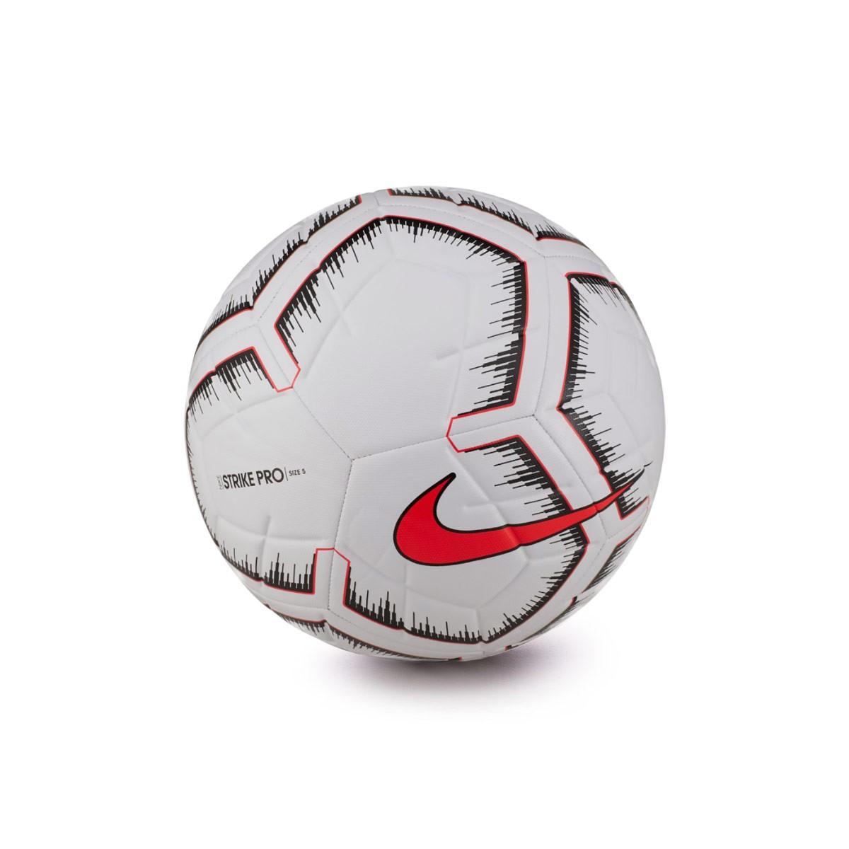 ef1b164dd728a Balón Nike Strike Pro Fifa 2018-2019 White-Bright crimson - Tienda de  fútbol Fútbol Emotion