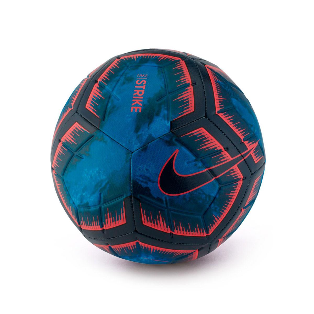 Ball Nike Strike Night 2018-2019 Obsidian-Bright crimson - Football ... 9ec16921a03e6