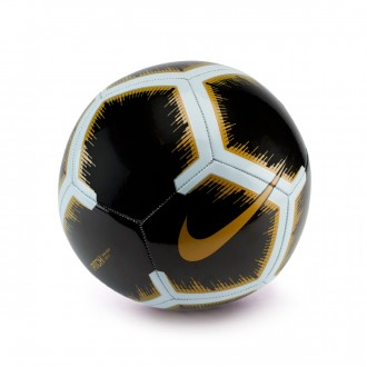 Balón  Nike Pitch 2018-2019 Black-White-Metallic vivid gold
