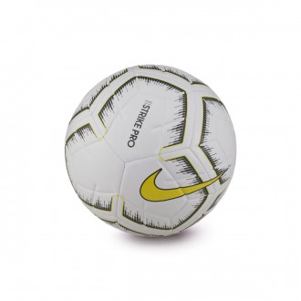 Ball  Nike Strike Pro Fifa 2018-2019 White-Optical yellow