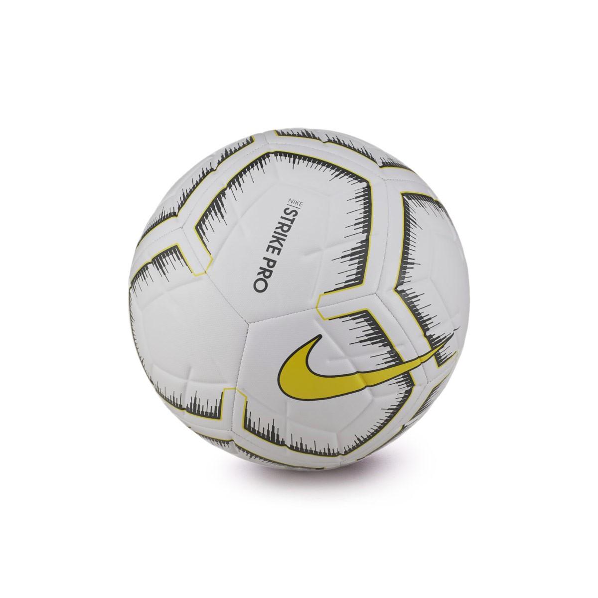 cefcc6dd2ad4 Ball Nike Strike Pro Fifa 2018-2019 White-Optical yellow - Football ...