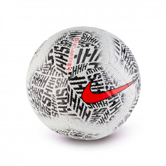 Balón Nike Neymar Jr Strike 2018-2019 White-Black-Challenge red