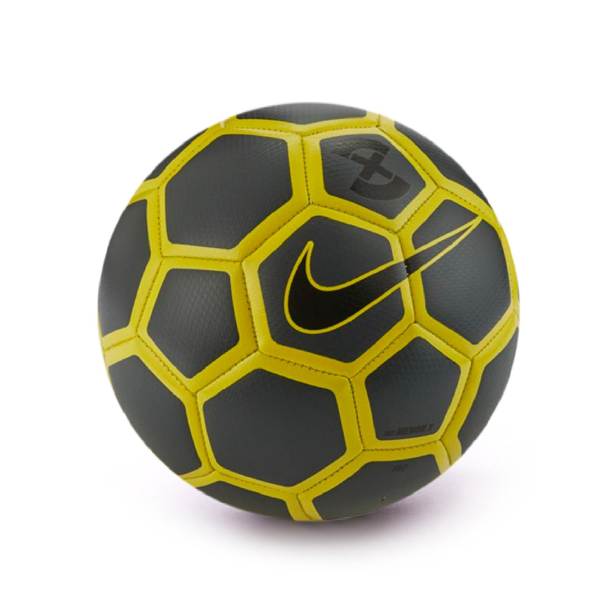 Dalset Berenjena Picasso  Ball Nike Menor X Anthracite-Optical yellow-Black - Football store Fútbol  Emotion