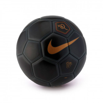 Bola de Futebol  Nike MenorX 10R Black-Anthracite-Metallic gold