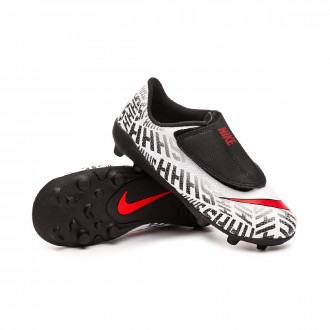 Bota  Nike Mercurial Vapor XII Club Neymar Jr MG White-Challenge red-Black
