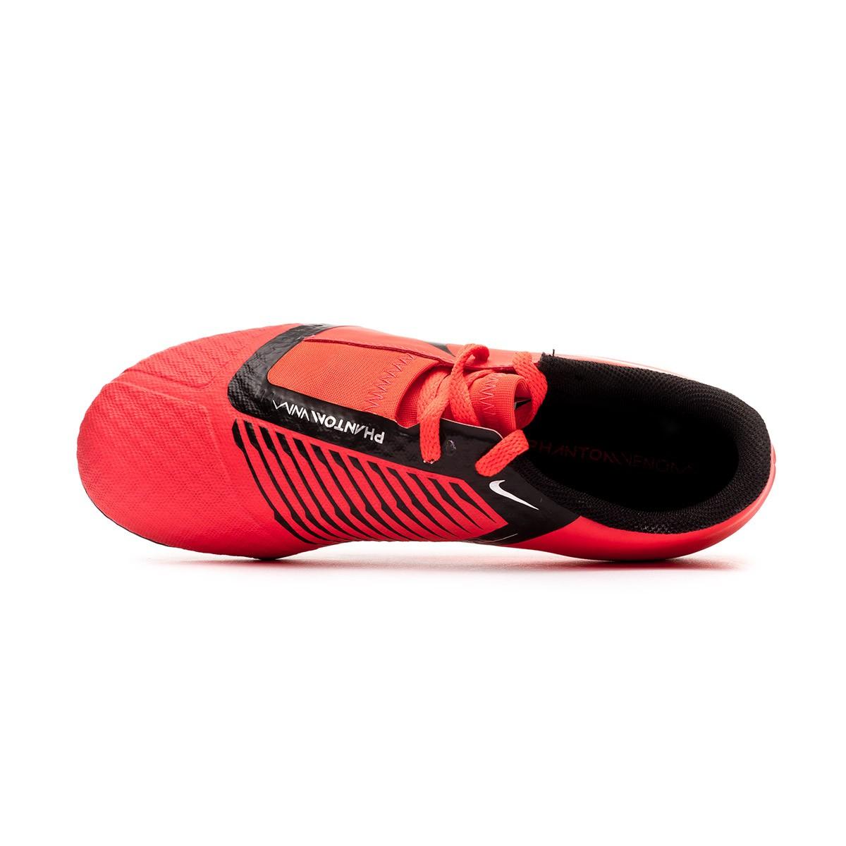 1fc55a5b3a8fbc Scarpe Nike Phantom Venom Academy FG Junior Bright crimson-Black - Negozio  di calcio Fútbol Emotion