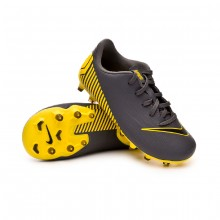 Bota Mercurial Vapor XII Academy MG Niño Dark grey-Black