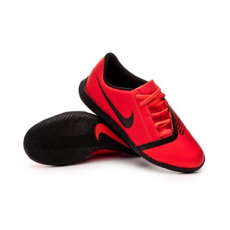 Futsal Boot  Nike Phantom Venom Club IC Niño Bright crimson-Black