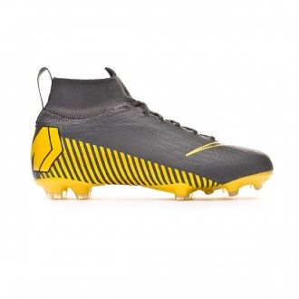 Football Boots Nike Kids Mercurial Superfly VI Elite FG  Dark grey-Black