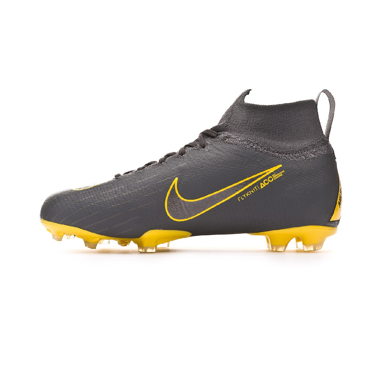 a3b492c53c Football Boots Nike Kids Mercurial Superfly VI Elite FG Dark grey-Black -  Football store Fútbol Emotion