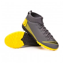 Scarpe Mercurial SuperflyX VI Academy Turf Junior Dark grey-Black