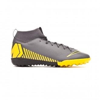 Zapatilla Nike Mercurial SuperflyX VI Academy Turf Niño Dark grey-Black
