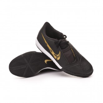 Futsal Boot  Nike Phantom Venom Academy IC Niño Black-Metallic vivid gold