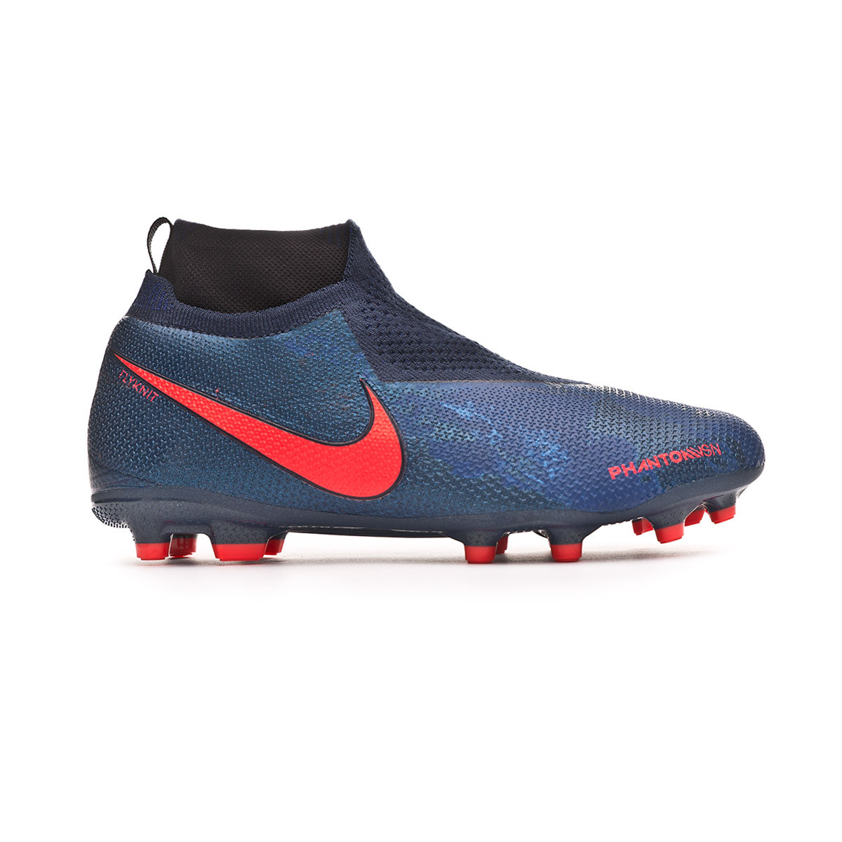 c0f7f05e9accb Football Boots Nike Phantom Vision Elite DF FG MG Niño Obsidian-Black-Blue  void - Tienda de fútbol Fútbol Emotion