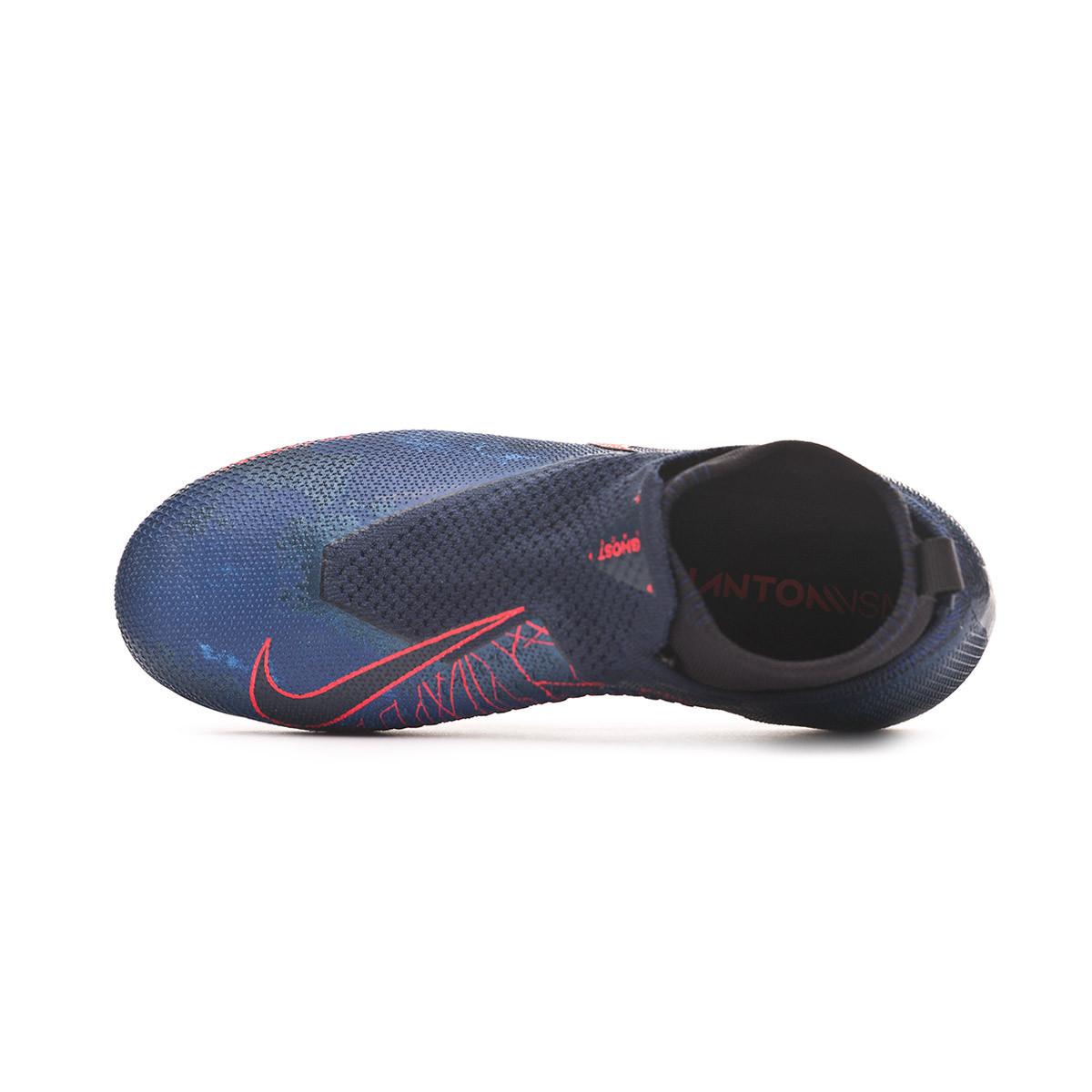 890cf2cdd Football Boots Nike Phantom Vision Elite DF FG MG Niño Obsidian-Black-Blue  void - Tienda de fútbol Fútbol Emotion