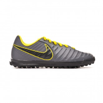 Scarpe  Nike Tiempo LegendX VII Club Turf Junior Dark grey-Black-Optical yellow