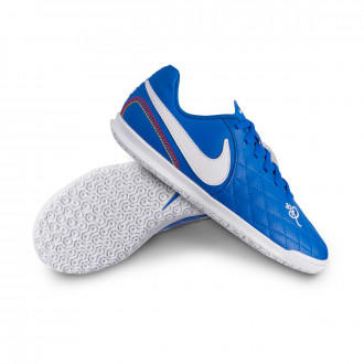 Sapatilha de Futsal  Nike Tiempo LegendX VII Club 10R IC Niño Game royal-White