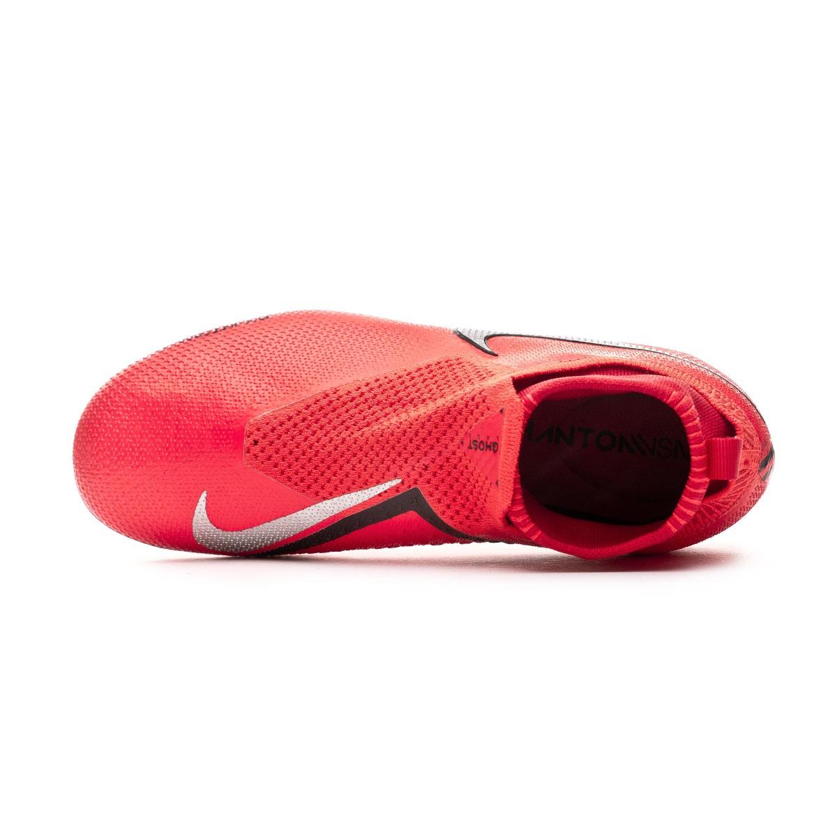 cefdb0d6d Football Boots Nike Kids Phantom Vision Elite DF FG/MG Bright  crimson-Metallic silver - Tienda de fútbol Fútbol Emotion