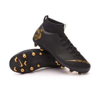 Boot  Nike Mercurial Superfly VI Academy MG Niño Black-Metallic vivid gold