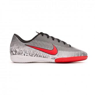 e8a9bc8d7a42 Futsal Boot Nike Mercurial VaporX XII Academy Neymar Jr IC Niño White-Challenge  red-
