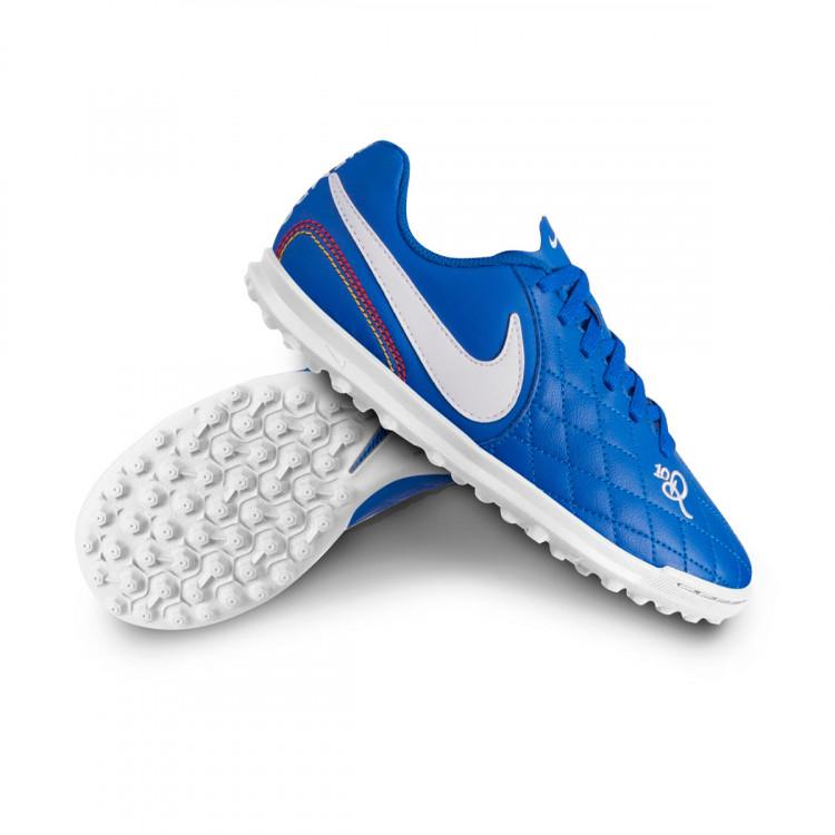 Football Boot Nike Tiempo LegendX VII Club 10R Turf Niño Game royal ... cf40e7a5096ce