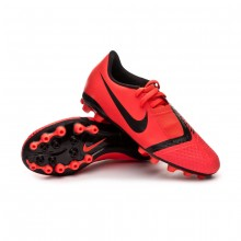 Football Boots Kids Phantom Venom Academy AG-R  Bright crimson-Black