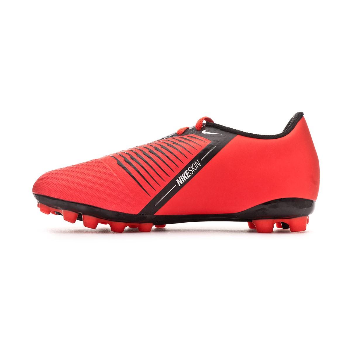 ddb85f76f Football Boots Nike Kids Phantom Venom Academy AG-R Bright crimson-Black -  Football store Fútbol Emotion