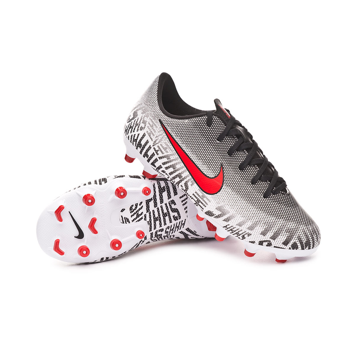 970ee8e1e Football Boots Nike Mercurial Vapor XII Academy MG Niño White ...