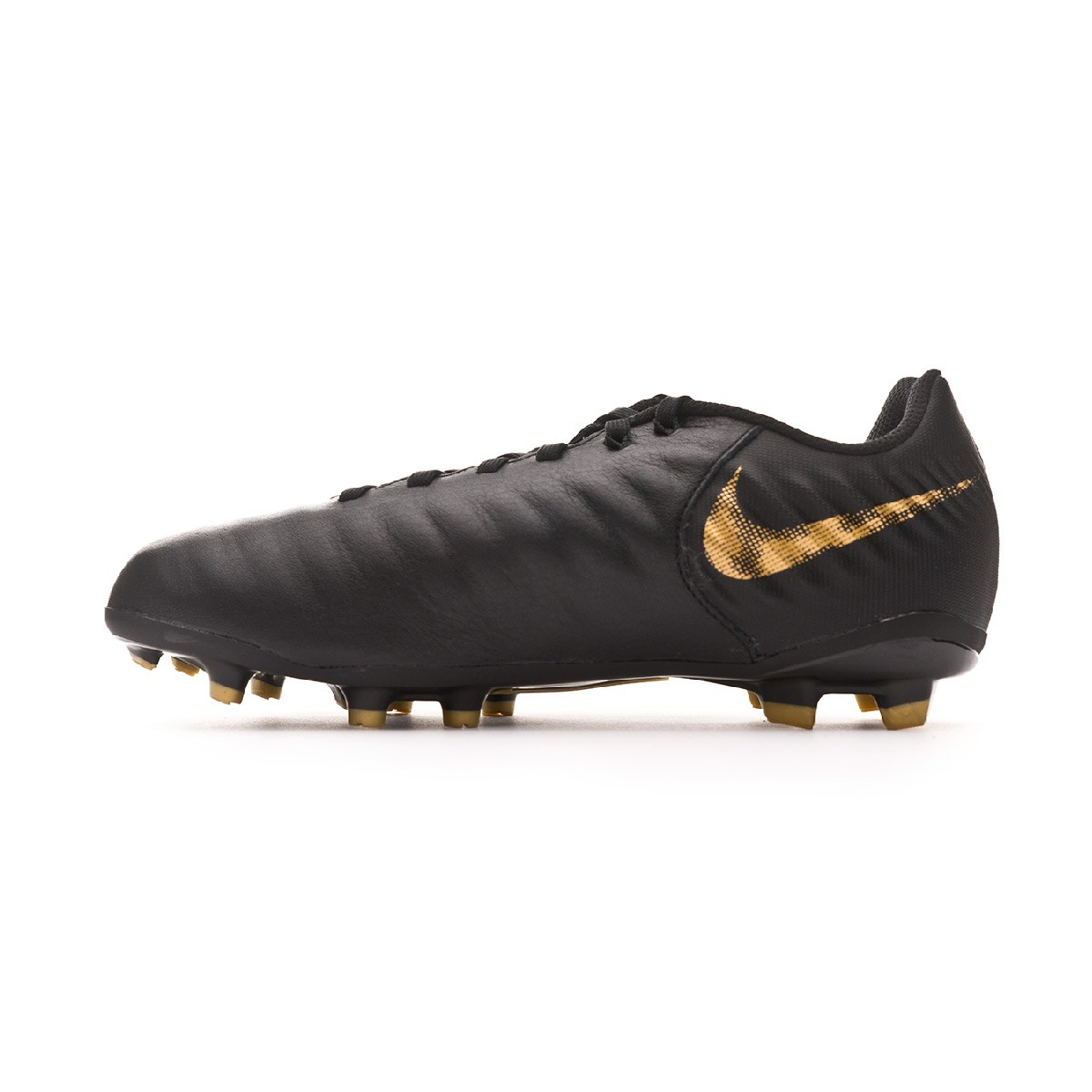 08da3d789 Football Boots Nike Tiempo Legend VII Academy MG Niño Black-Metallic vivid  gold - Football store Fútbol Emotion