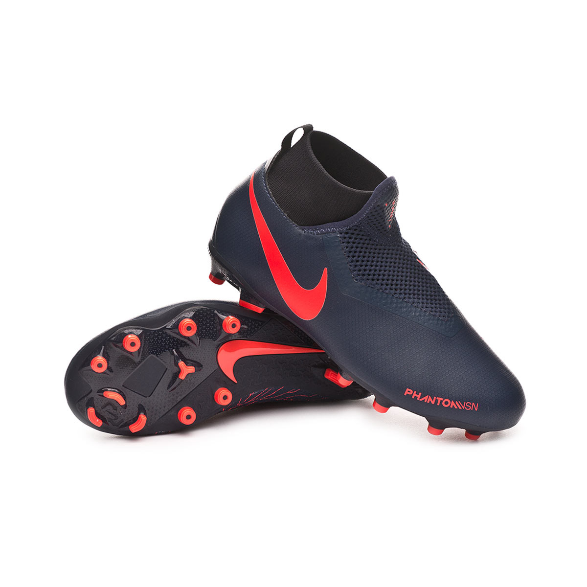 fb355099cf80 Boot Nike Kids Phantom Vision Academy DF FG MG Obsidian-Bright ...