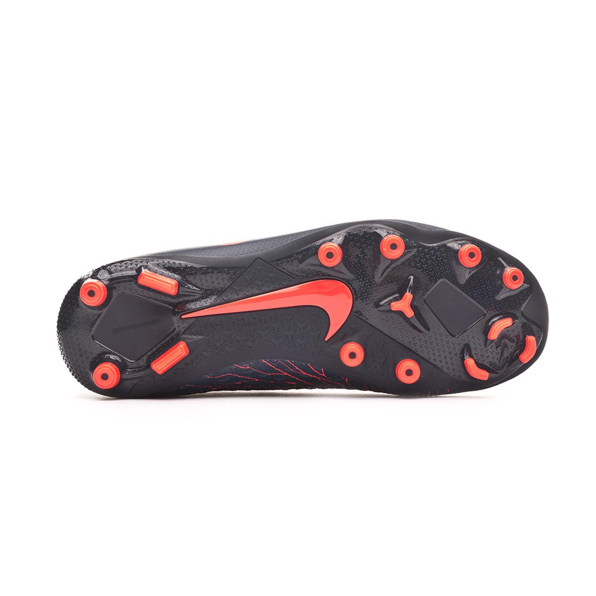 aca1f8b0626 Football Boots Nike Kids Phantom Vision Academy DF FG MG Obsidian-Bright  crimson-Black - Tienda de fútbol Fútbol Emotion