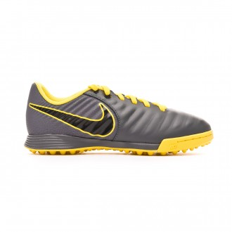 Football Boot  Nike Tiempo LegendX VII Academy Turf Dark grey-Black-Optical yellow
