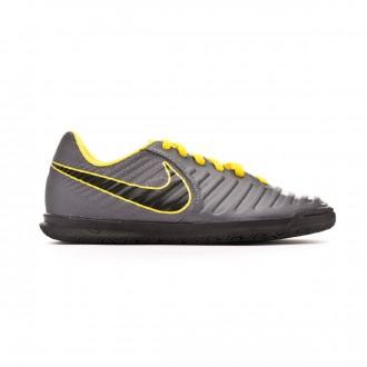 Zapatilla Nike Tiempo LegendX VII Club IC Niño Dark grey-Optical yellow-Black