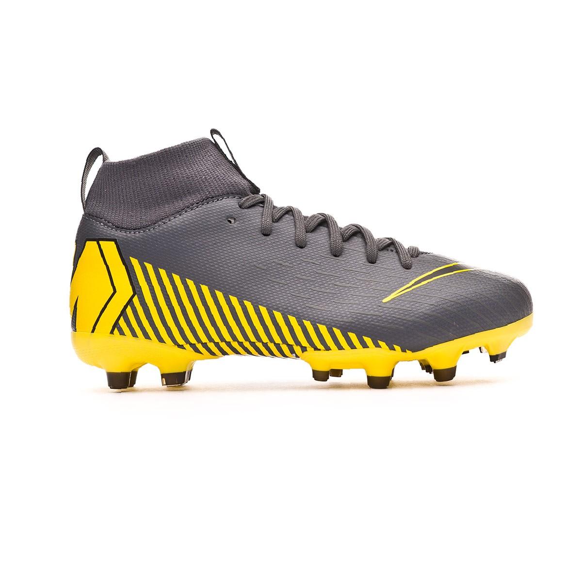 2c4743110c5a6 Scarpe Nike Mercurial Superfly VI Academy MG Junior Dark grey-Black -  Negozio di calcio Fútbol Emotion