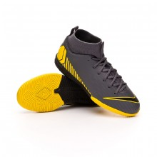 Zapatilla Mercurial SuperflyX VI Academy IC Niño Dark grey-Black