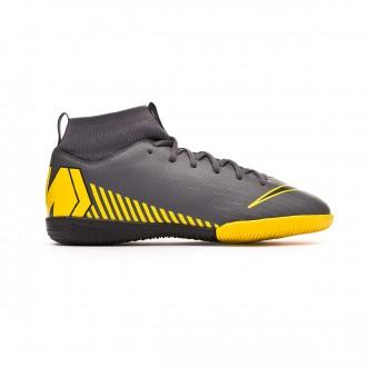 Zapatilla  Nike Mercurial SuperflyX VI Academy IC Niño Dark grey-Black