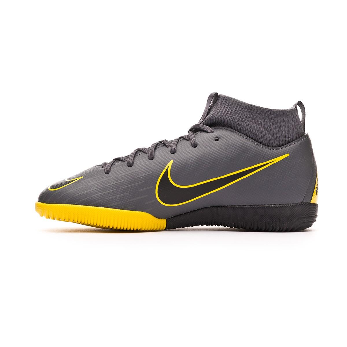 967da2e5ba6ca Tenis Nike Mercurial SuperflyX VI Academy IC Niño Dark grey-Black - Tienda  de fútbol Fútbol Emotion