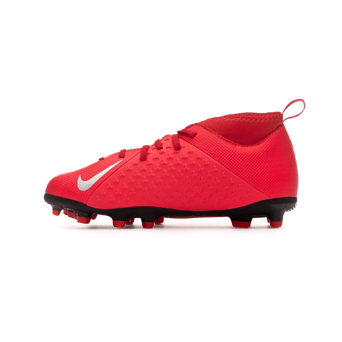 0fc9b573044e8 Football Boots Nike Kids Phantom Vision Club DF FG MG Bright  crimson-Metallic silver - Tienda de fútbol Fútbol Emotion
